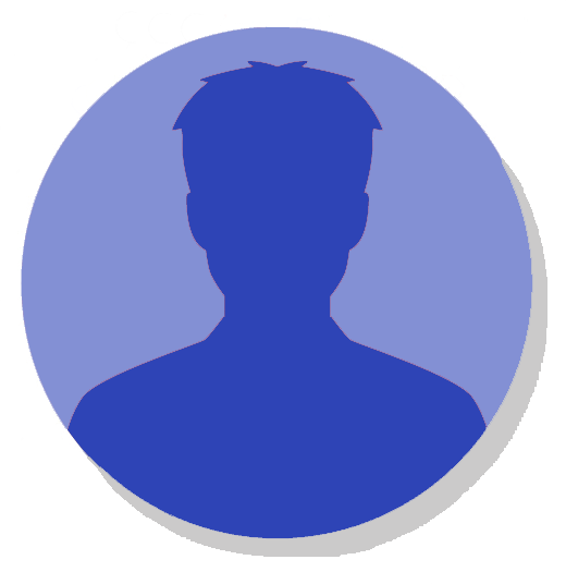 icono testimonios hombre azul