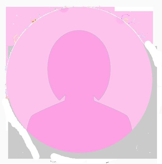 icono testimonios mujer rosa
